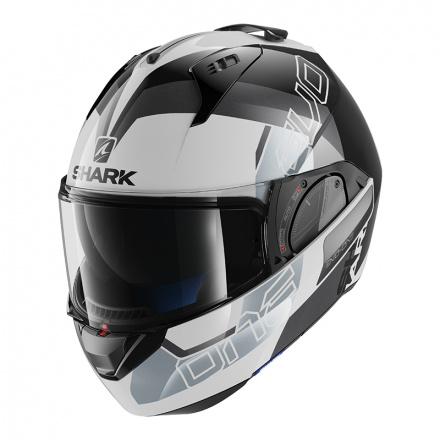 Shark Evo-one 2 Slasher, Wit-Zwart-Zilver (1 van 5)