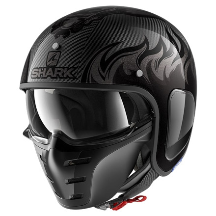 Shark S-drak Carbon Dagon, Carbon-Grijs (1 van 3)