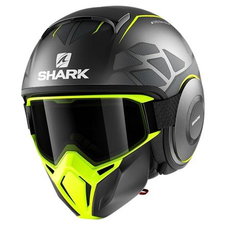 Shark Street Drak Hurok Mat, Zwart-Geel (1 van 3)