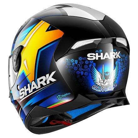 Shark Skwal 2 Oliveira, Zwart-Blauw-Geel (3 van 3)