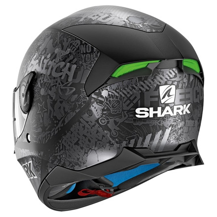 Shark Skwal 2 Switch Rider 2 Mat, Mat Zwart (3 van 3)