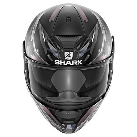 Shark D-Skwal Kanhji Mat, Zwart-Wit-Antraciet (2 van 3)
