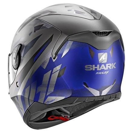 Shark D-Skwal Kanhji Mat, Antraciet-Blauw-Zwart (3 van 3)