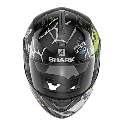 Shark Ridill 1.2 Drift-R, Zwart-Groen-Blauw (2 van 3)