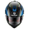 Shark Race-R Pro Carbon Guintoli, Carbon-Blauw (Afbeelding 2 van 3)