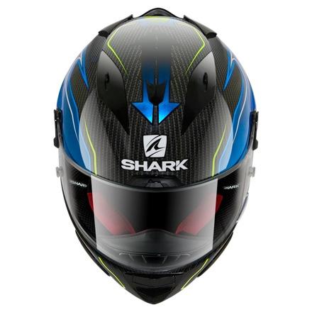 Shark Race-R Pro Carbon Guintoli, Carbon-Blauw (2 van 3)