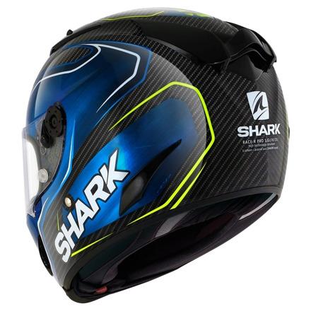 Shark Race-R Pro Carbon Guintoli, Carbon-Blauw (3 van 3)