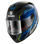 Race-R Pro Carbon Guintoli - Carbon-Blauw