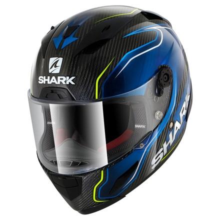 Shark Race-R Pro Carbon Guintoli, Carbon-Blauw (1 van 3)