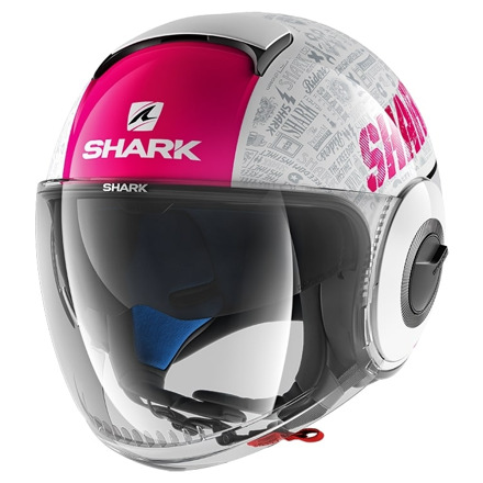 Shark Nano Tribute Rm, Wit-Paars (1 van 3)