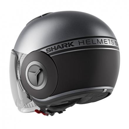 Shark Nano Street Neon Mat, Antraciet-Zwart (3 van 3)