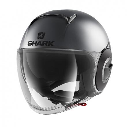 Shark Nano Street Neon Mat, Antraciet-Zwart (1 van 3)