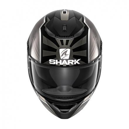 Shark Spartan 1.2 Zarco Malaysian GP Mat, Zwart-Antraciet-Zilver (2 van 3)