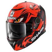 Spartan 1.2 Lorenzo Mat Gp - Rood-Zwart