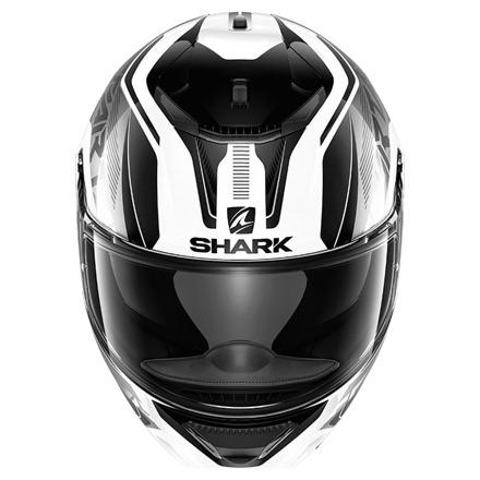 Shark Spartan 1.2 Karken, Wit-Zwart (2 van 3)