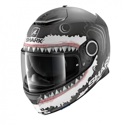 Shark Spartan 1.2 Lorenzo White  Mat, Zwart-Wit-Antraciet (1 van 3)