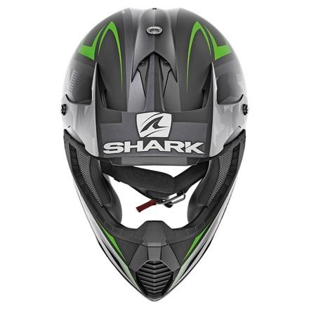 Shark Varial Tixier Mat, Zwart-Groen-Antraciet (2 van 3)