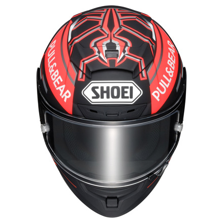 Shoei X-Spirit III Marquez Black Concept Tc-1, Zwart-Rood (2 van 3)
