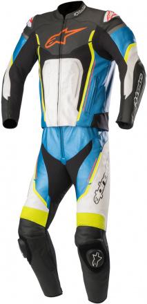 Motegi V2 2pc Suit - Zwart-Wit-Blauw