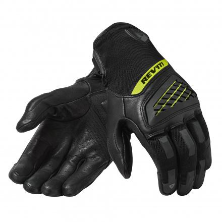 REV'IT! Gloves Neutron 3, Zwart-Neon Geel (1 van 1)