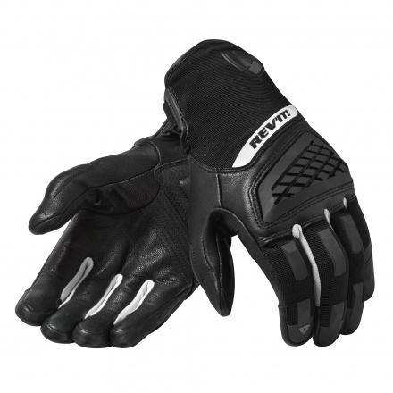 REV'IT! Gloves Neutron 3, Zwart-Wit (1 van 1)
