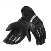 Neutron 3 Dames Motorhandschoenen - Zwart-Wit