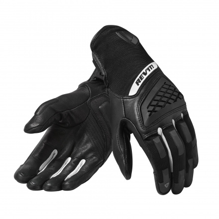 REV'IT! Gloves Neutron 3 Ladies, Zwart-Wit (1 van 1)