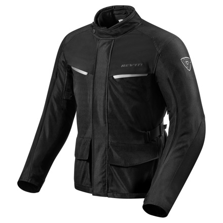 REV'IT! Jacket Voltiac 2, Zwart (1 van 2)