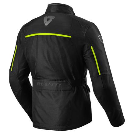 REV'IT! Jacket Voltiac 2, Zwart-Neon Geel (2 van 2)