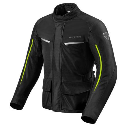 REV'IT! Jacket Voltiac 2, Zwart-Neon Geel (1 van 2)