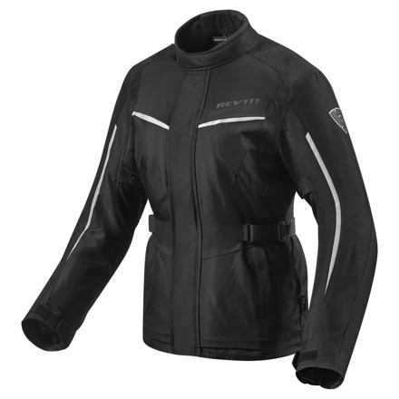 REV'IT! Jacket Voltiac 2 Ladies, Zwart-Zilver (1 van 2)