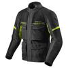 Jacket Outback 3 - Zwart-Neon Geel