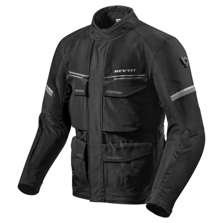 REV'IT! Jacket Outback 3, Zwart-Zilver (1 van 2)