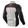 Jacket Outback 3 - Zilver-Rood