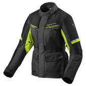 Jacket Outback 3 Ladies - Zwart-Neon Geel