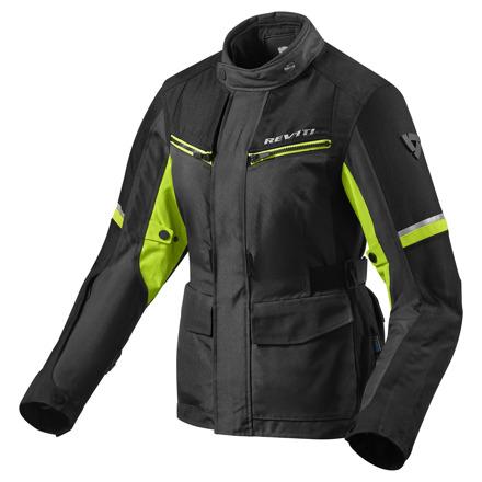 REV'IT! Jacket Outback 3 Ladies, Zwart-Neon Geel (1 van 2)