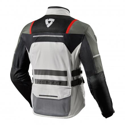 REV'IT! Jacket Offtrack, Zilver-Rood (2 van 2)