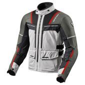 Jacket Offtrack - Zilver-Rood