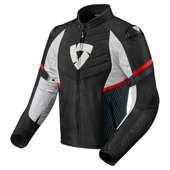Jacket Arc H2O - Zwart-Rood