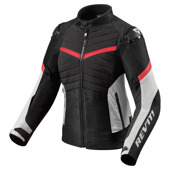Jacket Arc H2O Ladies - Zwart-Rood