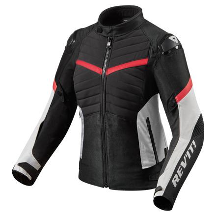 REV'IT! Jacket Arc H2O Ladies, Zwart-Rood (1 van 2)