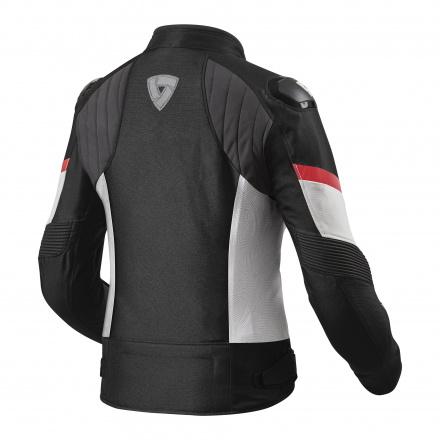 REV'IT! Jacket Arc H2O Ladies, Zwart-Rood (2 van 2)