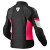 REV'IT! Jacket Arc H2O Ladies, Zwart-Roze (Afbeelding 2 van 2)