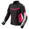 REV'IT! Jacket Arc H2O Ladies, Zwart-Roze (Afbeelding 1 van 2)
