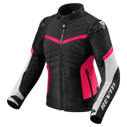 REV'IT! Jacket Arc H2O Ladies, Zwart-Roze (1 van 2)