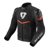 Jacket Mantis - Zwart-Neon Rood