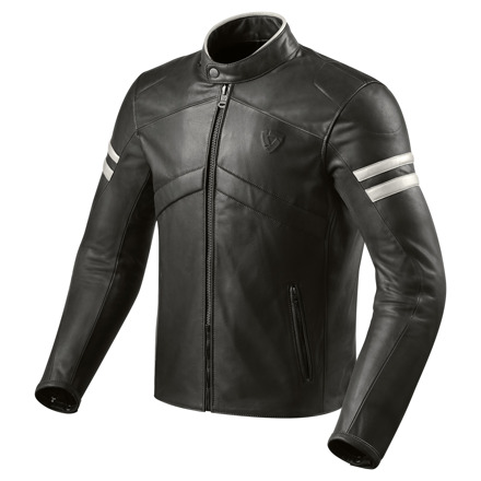 REV'IT! Jacket Prometheus, Zwart-Wit (1 van 2)