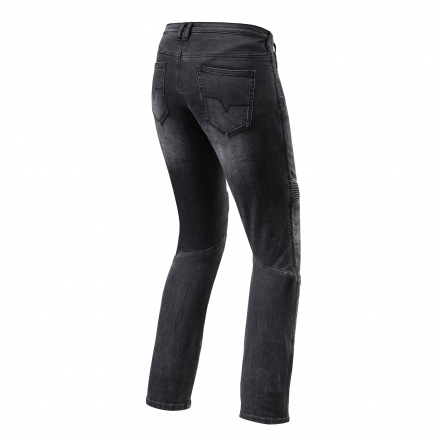 REV'IT! Jeans Moto Ladies TF, Zwart (2 van 2)