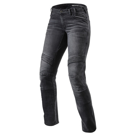 REV'IT! Jeans Moto Ladies TF, Zwart (1 van 2)