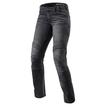 Jeans Moto Ladies TF - Zwart